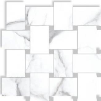 Statuario Contrasti Bianco Nat. con Tozz. Piombo 72802