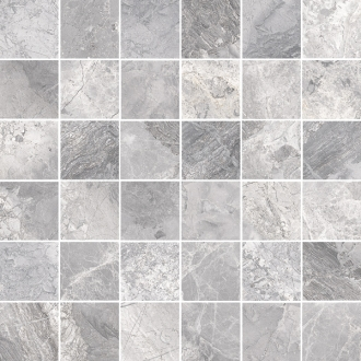 Supreme Mosaico 4,7x4,7 Silver Nat 75533