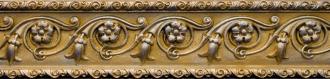 Cenefa Flor Gold