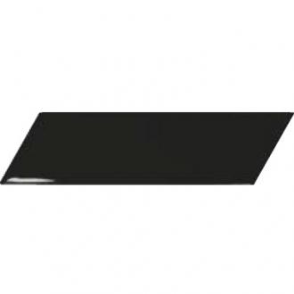 Chevron Wall Black Left 23356