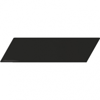 Chevron Wall Black Left Matt 23357