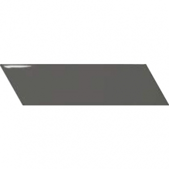 Chevron Wall Dark Grey Right 23359