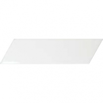 Chevron Wall White Left 23344