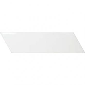 Chevron Wall White Right 23358