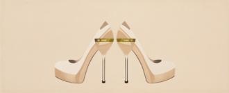 Chic Dec. Shoes Beige