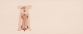 Chic Dec. Shoes Pink