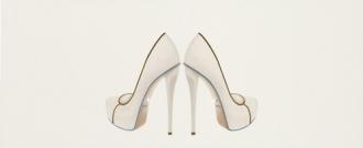 Chic Dec. Shoes White