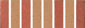 Cotto d' Albe Orange/Red Feudal 2056/211