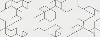 Clarity Dec. Polygon Blanco