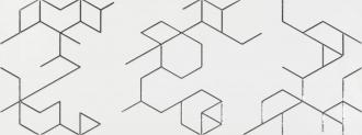 Clarity Decor Polygon Blanco