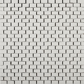 Clay 41 Mosaic Bricky White