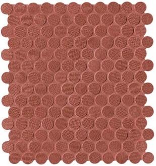 Color Line Copper Marsala Round Mosaico