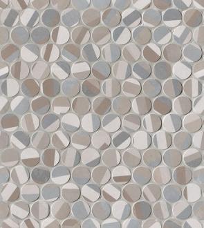 Color Line Deco Round Mosaico