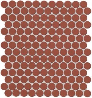 Color Line Marsala Round Mosaico