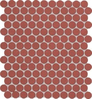 Color Now Marsala Round Mosaico