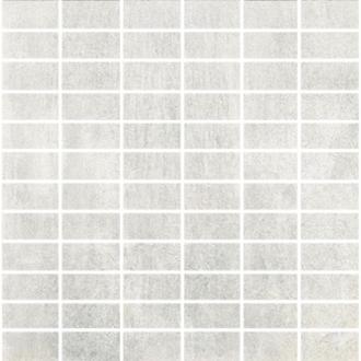 Concrete Mosaico Rettangoli White Nat.