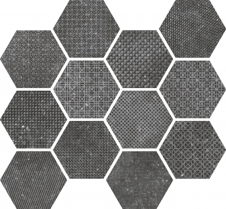 Coralstone Melange Black Antislip