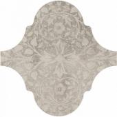 Curvytile Stone Motif Grey