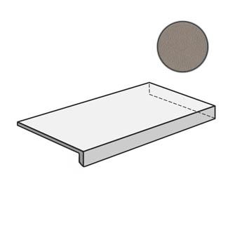 Dechirer Angolare corner tile DX Cenere PUDT44