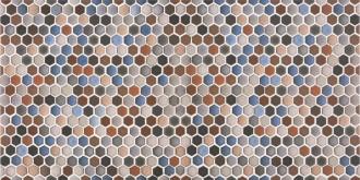 Decor Hexatile Multicolor
