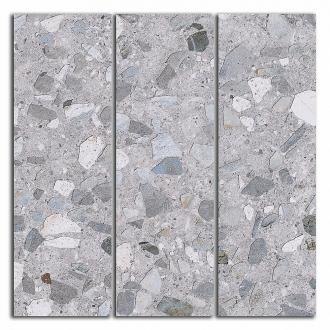 Декор Терраццо серый мозаичный SG184/005