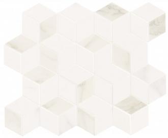 Delux White Tessere Rombi