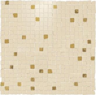 Details Mosaico Klimt Beige Tozzetto Oro