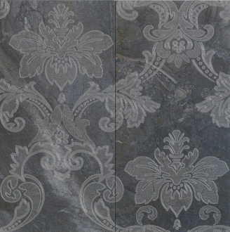 Digi Marble Decor Panello Damasco Black