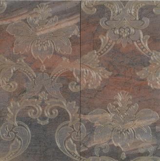 Digi Marble Decor Panello Damasco Copper
