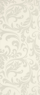 Diva Dec. Damasco Bianco Firma 553669