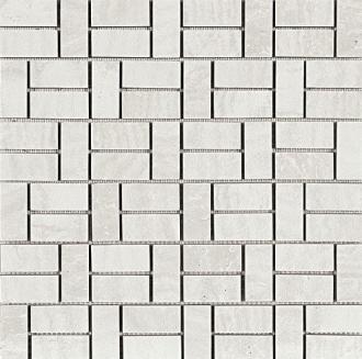 Domus Mosaico Brik Bianco Glossy 4434