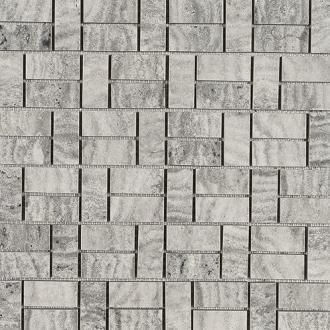 Domus Mosaico Brik Grigio Silk 4396