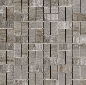 Domus Mosaico Brik Piombo Silk 4382