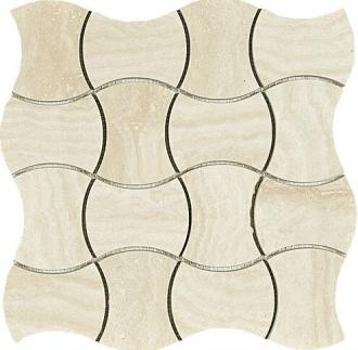Domus Mosaico Trama Beige Glossy 4361