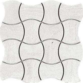 Domus Mosaico Trama Bianco Glossy 4435