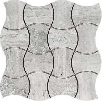 Domus Mosaico Trama Grigio Silk 4397