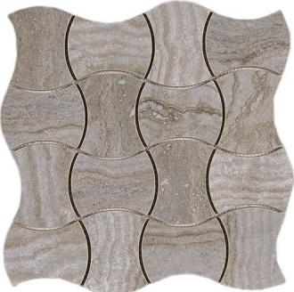 Domus Mosaico Trama Piombo Silk 4383