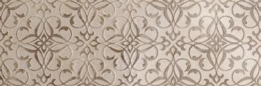 Декоративный элемент El Molino Clasic Decor Floral Beige Rlv Rect. 30x90 полированный