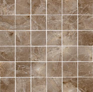 Мозаика El Molino Clasic Malla Marron 30x30 полированная