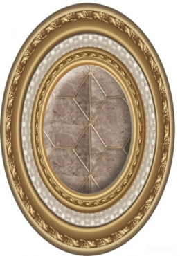 Вставка El Molino Clasic Medallon Oro 10x14 полированная