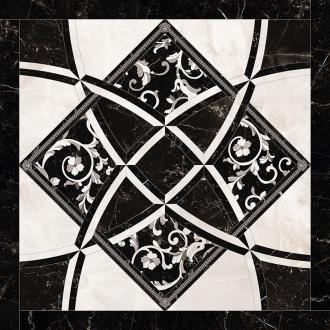 Emote Intarsio Bianco-Nero 262534