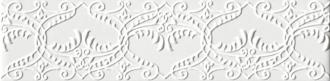 England Bianco Listello Decorado EG10LD