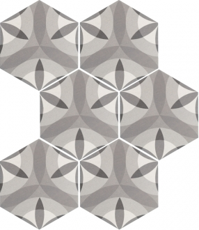 Hexatile Nature B&W 21355