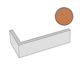 Спецэлемент Feldhaus Klinker Accudo Terracotta Vivo W718DF14 5,2x24 матовый