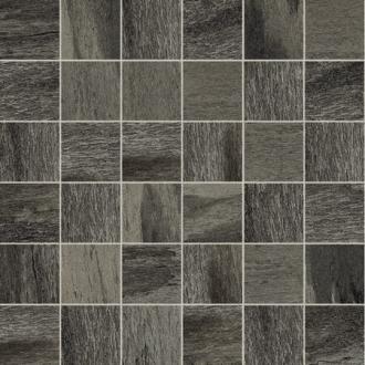 Flagstone Mosaici Black Glossy
