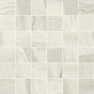 Flagstone Mosaici White Glossy
