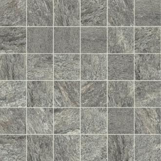 Flagstone Mosaico Plomb Matte
