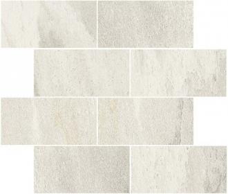 Flagstone Muretto Sfalsato White Glossy