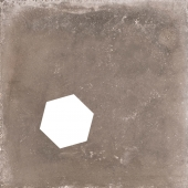 Backstage Graphite Hexagon Hole