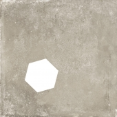 Backstage Tan Hexagon Hole